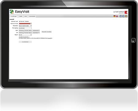EasyVisit-Besuchsplanung-Tourenplanung-Einstellungen