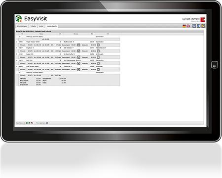 EasyVisit-Besuchsplanung-Tourenplanung-Routendetails